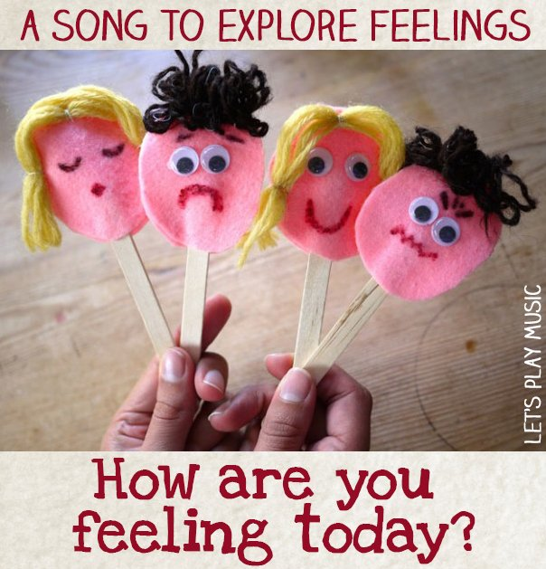 Emotions Song : How Are You Feeling Today?