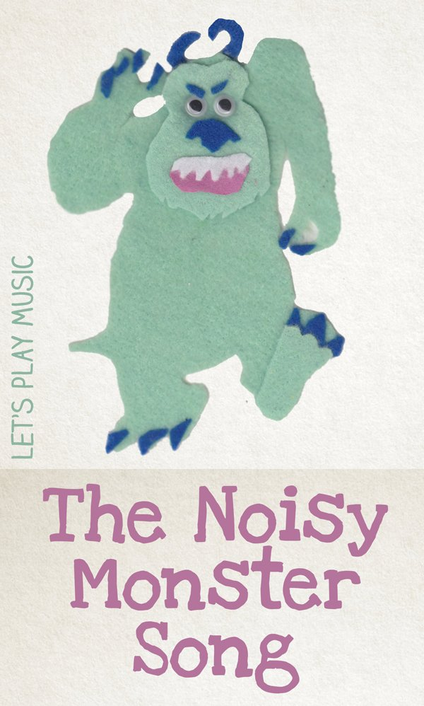 The Noisy Monster Song for Halloween