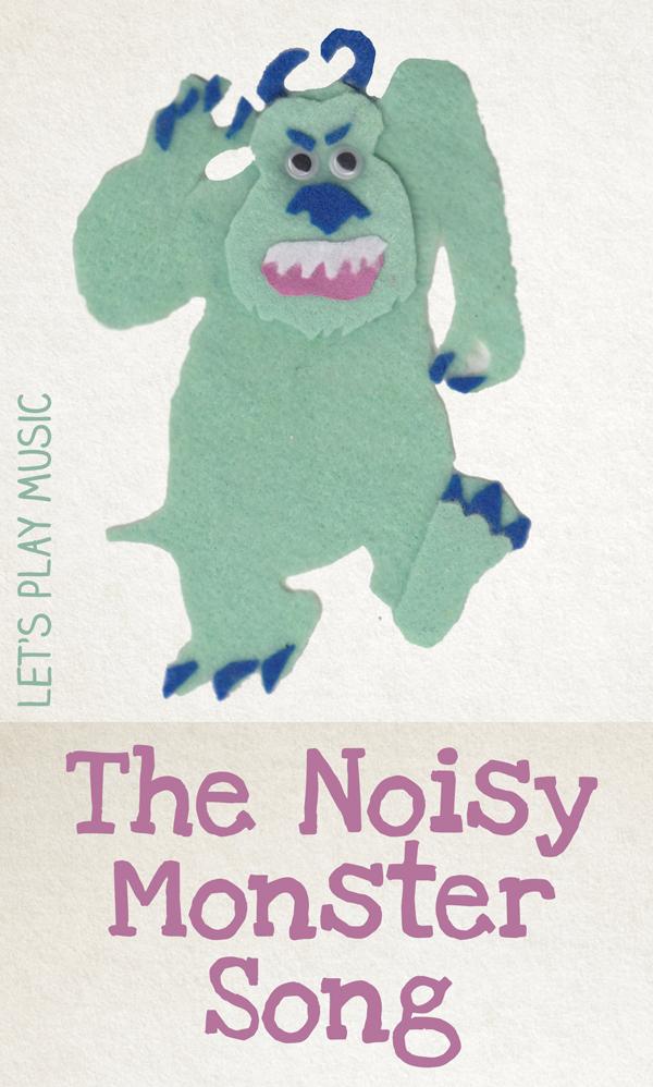 The Noisy Monster Song for Halloween