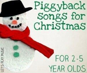Christmas Piggyback Songs
