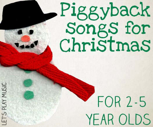 Christmas Piggyback Songs