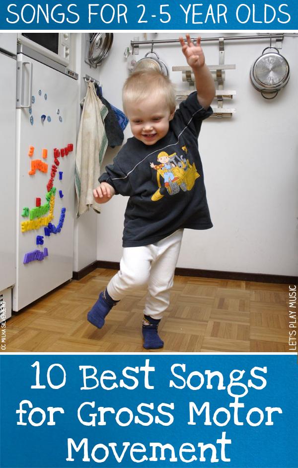 Gross Motor Movement Songs for Kids
