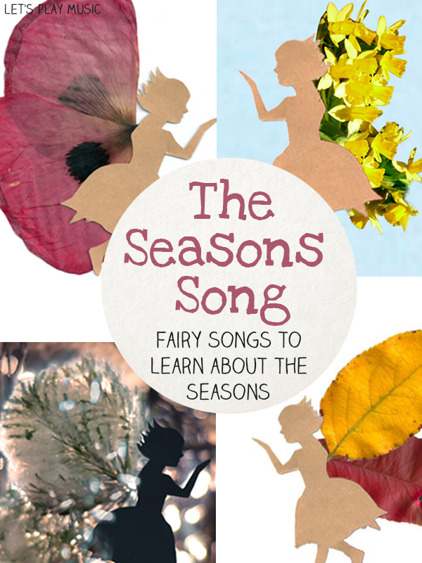 Seasons Songs - collection of songs that teach kids about seasons through fairy stories