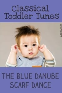 Classical Toddler Tunes - The Blue Danube Scarf Dance