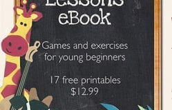 The First Piano Lessons eBook Launch