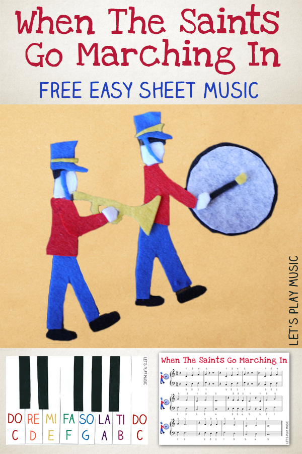 When The Saints Go Marching In Easy Sheet Music