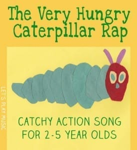 The very hungry caterpillar rap