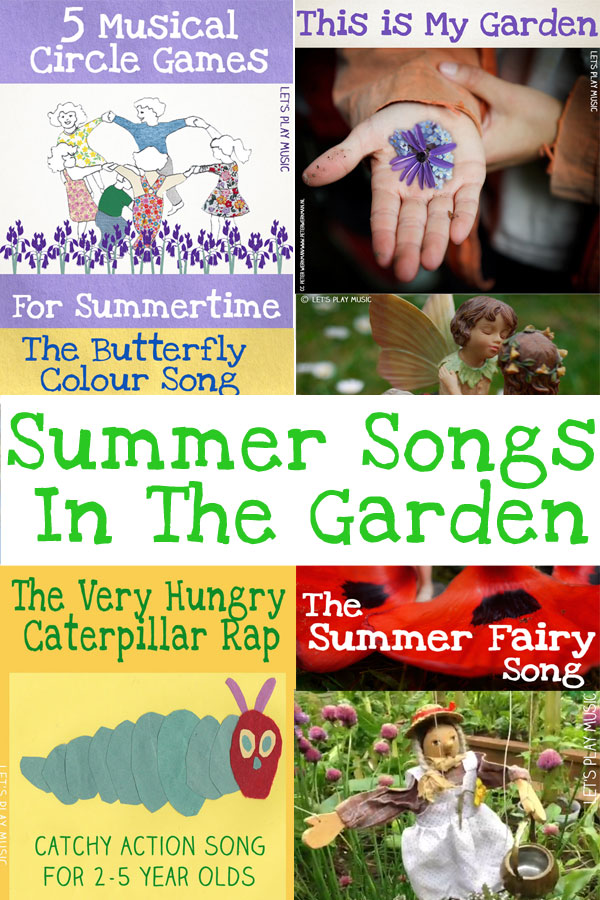 Summer Garden Songs