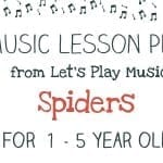 Lesson Plan: Spiders