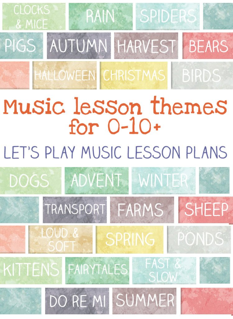 Weekly Lesson Plans  LetS Play Music