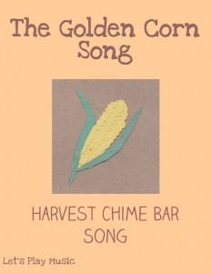 Golden Corn Chime Bar Song for harvest