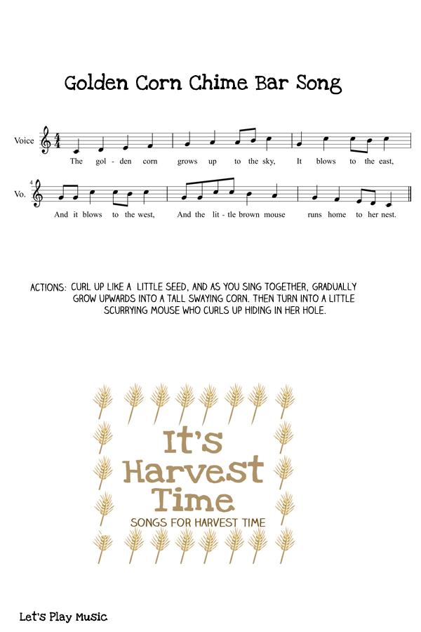 Golden Corn Chime bar Song