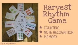 Harvest Rhythm Game
