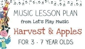 Lesson Plan: Harvest & Apples
