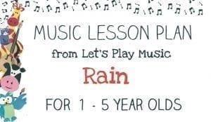 Lesson Plan: Rain