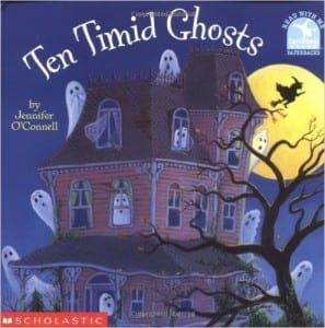 10 Timid Ghosts - spooky sound stories for halloween