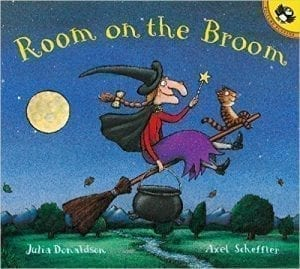 Room On The Broom, a noise cumulative story with plenty of opportunity to explore improvisation.