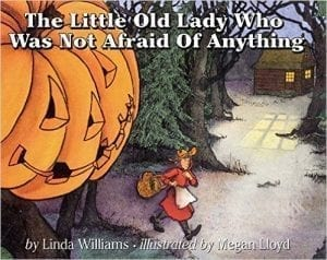 The little old Lady who was not afraid of anything - spooky sound stories.