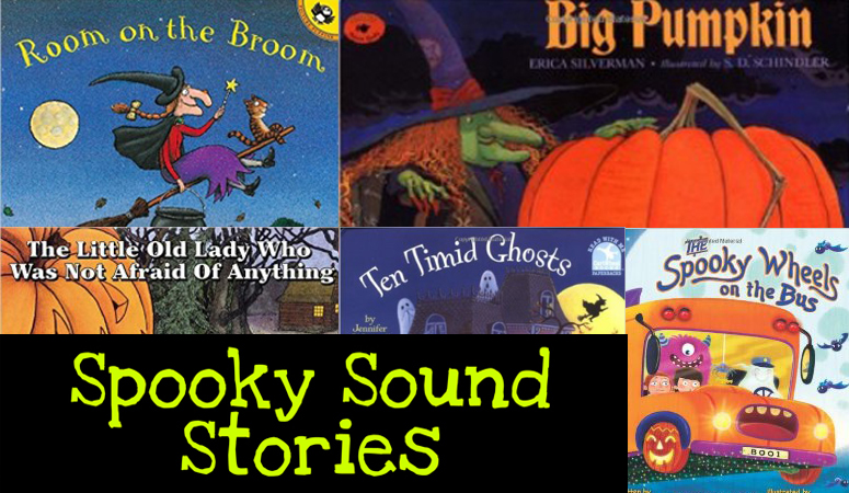 Spooky Sound Stories For Halloween - Let's Play Music