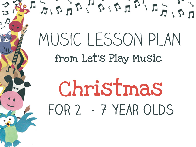 Christmas lesson plan image