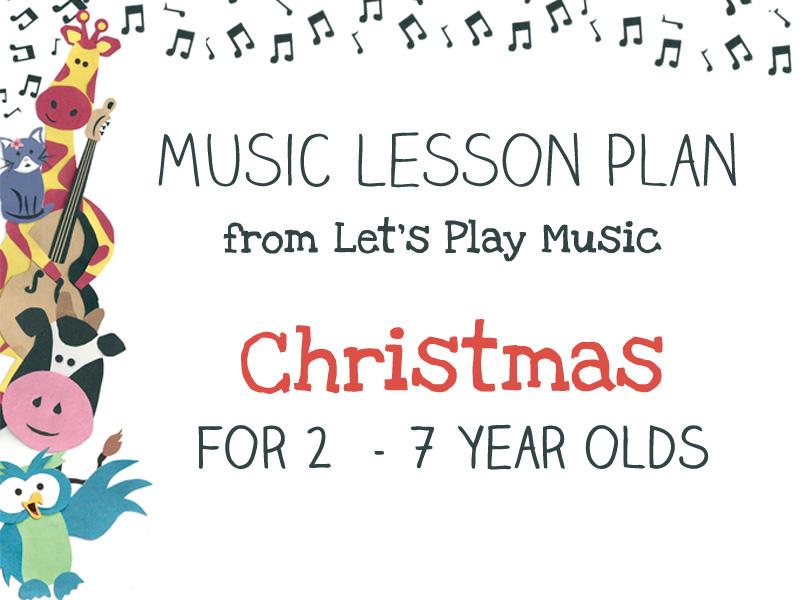 Christmas lesson plan image
