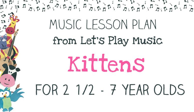 Lesson Plan : Kittens