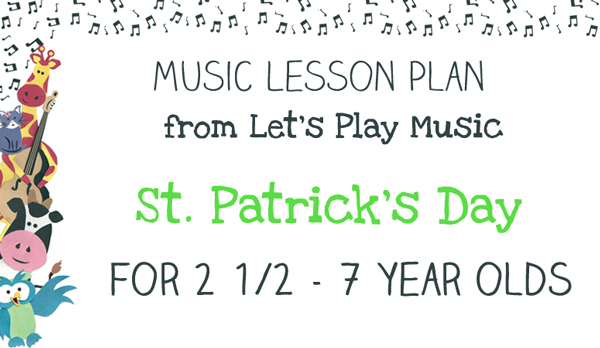 Lesson Plan St Patrick's Day image