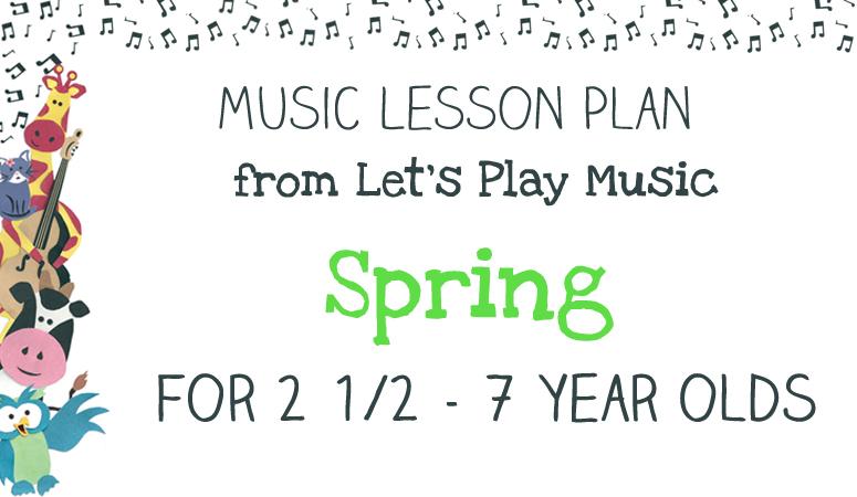 Spring lesson plan image
