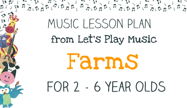 Farm lesson Plan Image