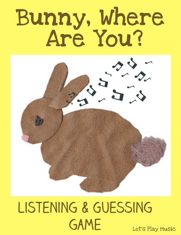 Bunny Where Are You Listening & Guessing Game