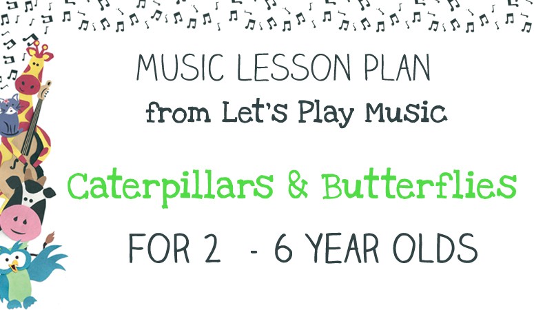 Caterpillars & butterflies lesson plan image