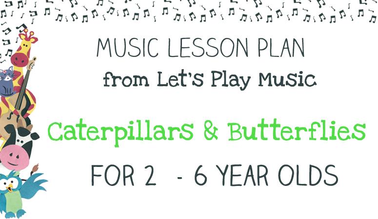 Caterpillars & butterflies lesson plan image