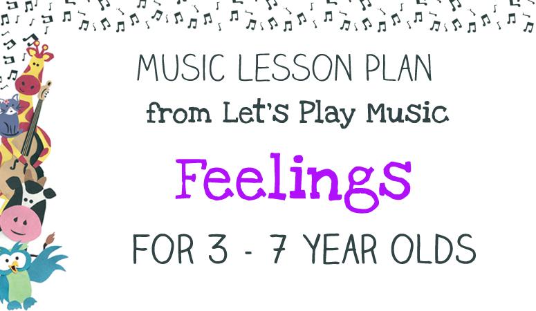 Feelings lesson plan image