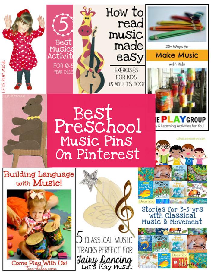 Best Preschool Music Pins On Pinterest