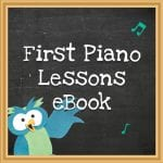 First Piano Lessons eBook Featured Image