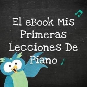 El eBook Mis primeras lecciones de piano