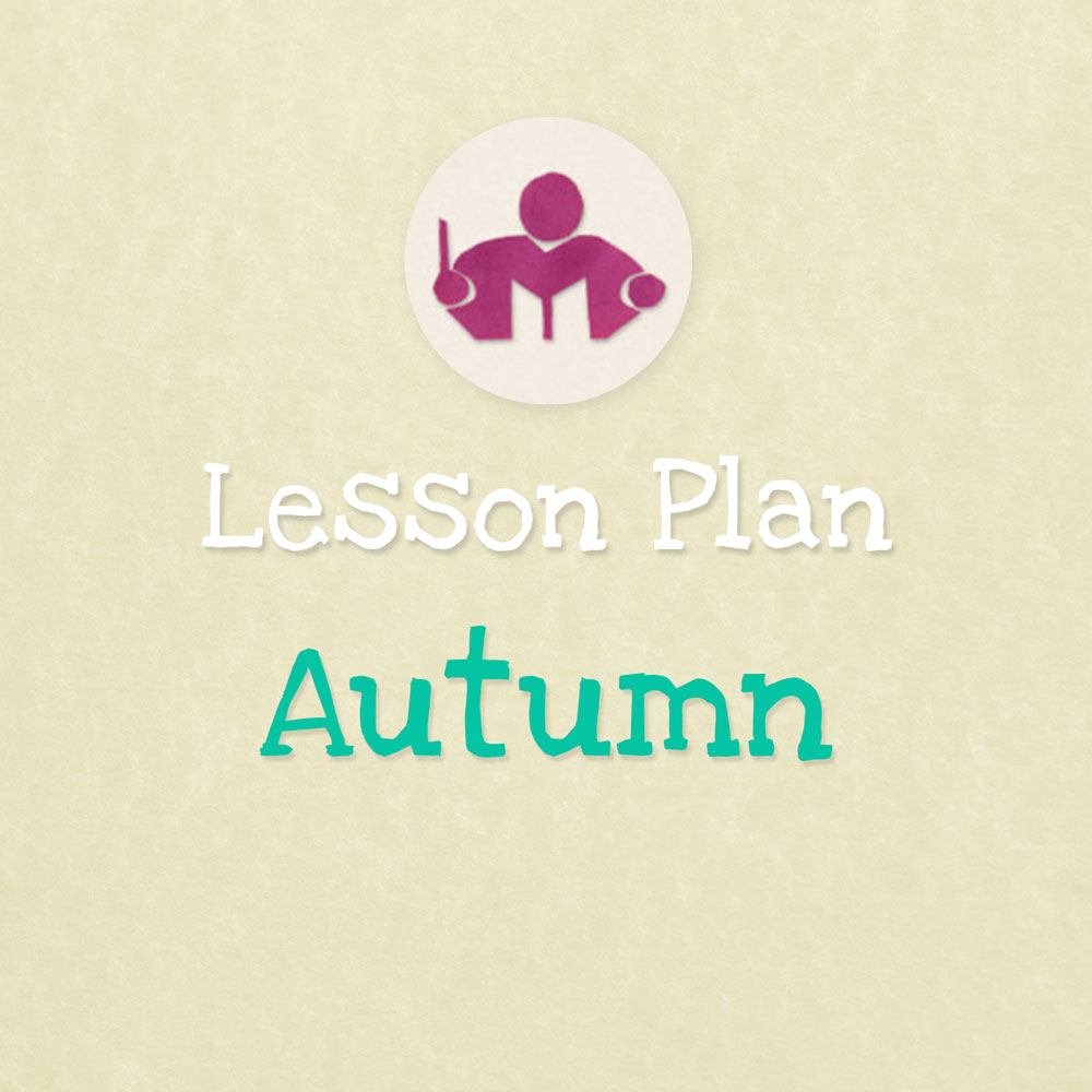 Autumn lesson & activity plan