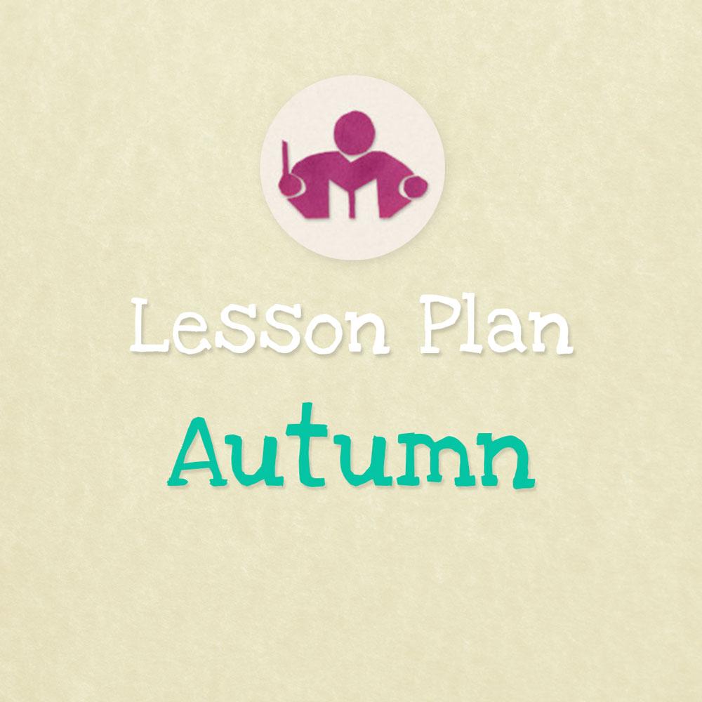 Autumn lesson & activity plan