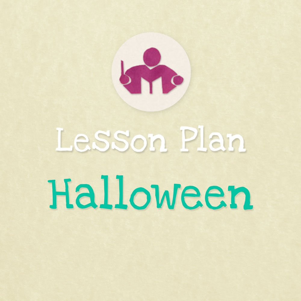 halloween lesson & activity plan - let's play music