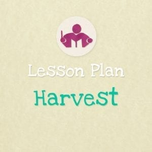 Harvest & Apples Lesson & activity Plan