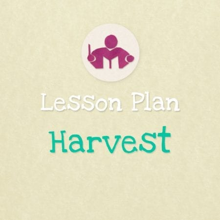 Harvest & Apples Lesson & activity Plan