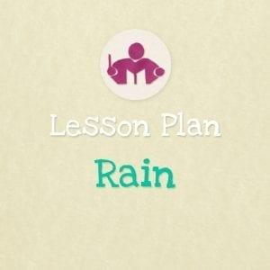 Rain Lesson & activity plan EU notes