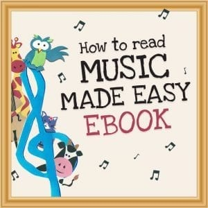 How to read music made easy ebook landing page image