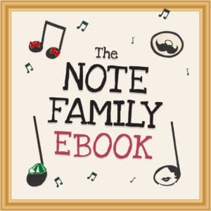 The Note Family eBook Launch!