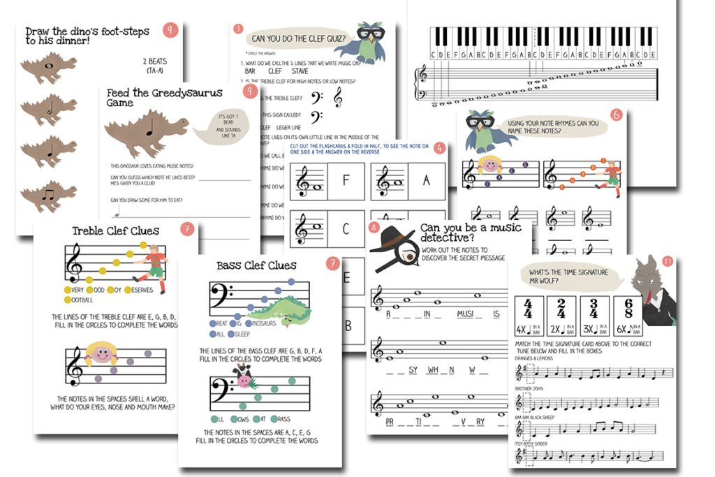 image regarding Printable Music Flashcards referred to as How Toward Study Songs Designed Simple