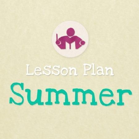 Summer lesson & Activity plan F.I