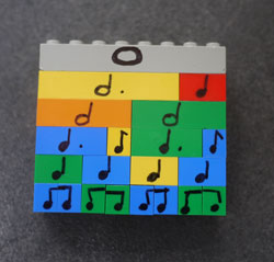 Lego Beats Music Manipulatives