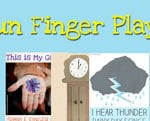 Fun Finger Plays For Toddlers