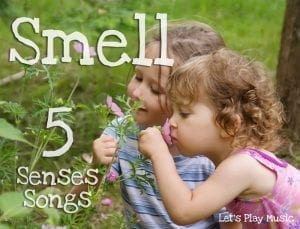 5 senses songs-smell