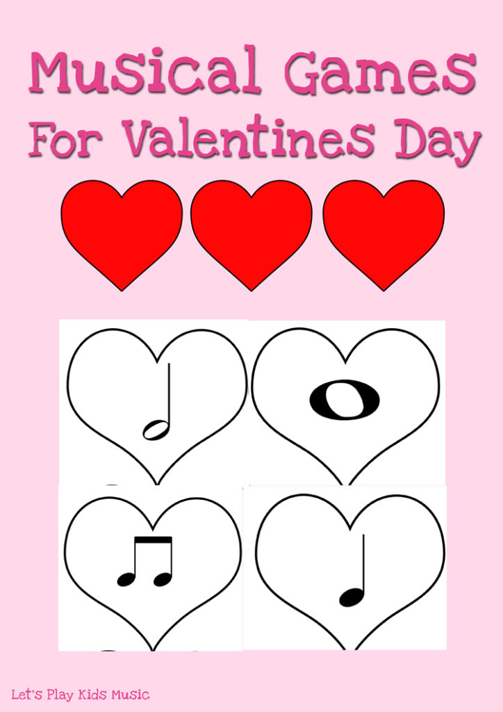 Musical Games For Valentines Day - Let\'s Play Music